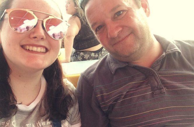 Hannah Jayne and dad